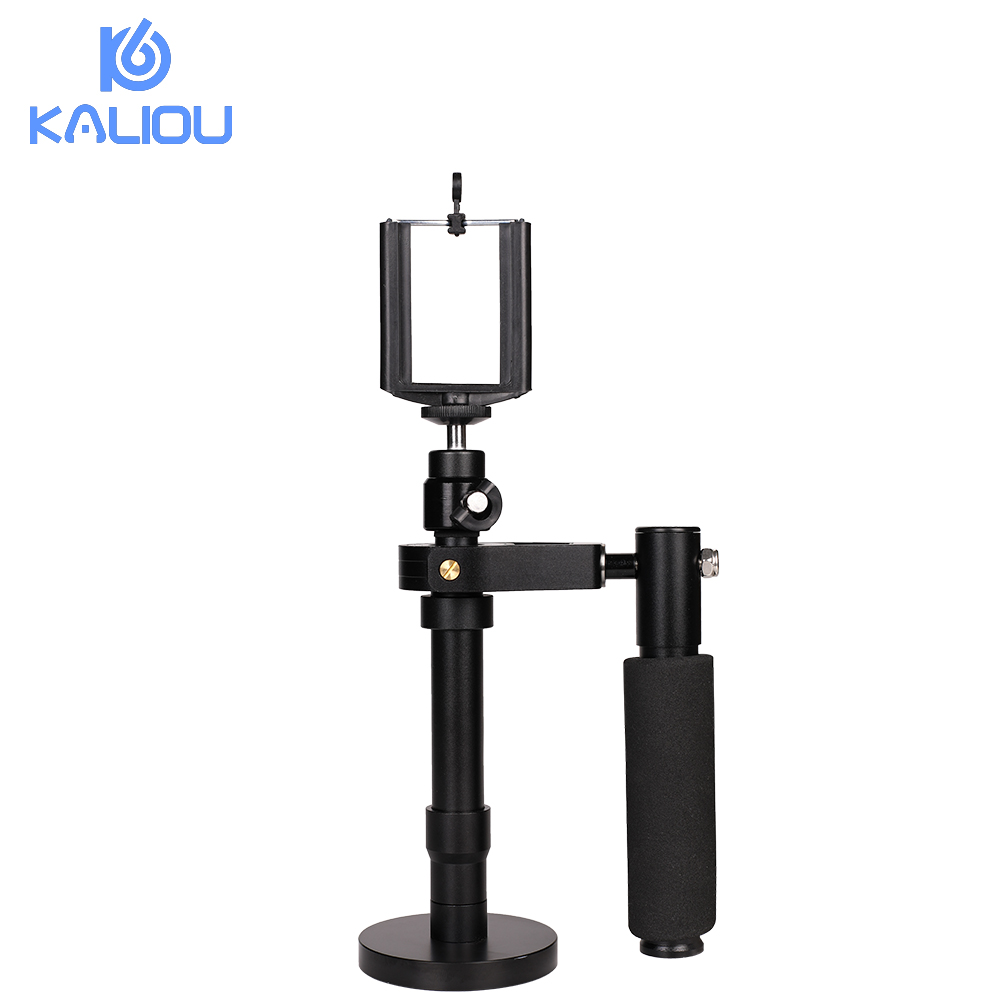 Kaliou Handheld S30 Camera Stabilizer Phone Stabilizer for GoPro 6 5 4 3 2 1 Steadicam Iphone 6 7 Plus Smartphone Cell phone universal eva sports gym armband for 4 5 5 0 cell phone white black