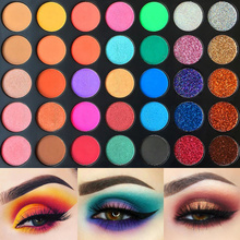 High Pigment Eyeshadow Palette 35 Colors Matte Shimmer Pressed Glitter Makeup Pallete Nudes Natural Bright Shades Cosmetics Set