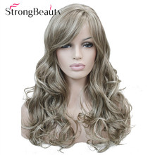 Strong Beauty Synthetic Wave Womens Wigs Long Capless 7 Colors For Choose
