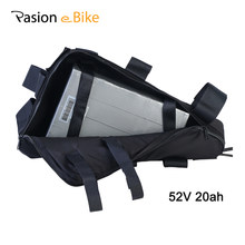 PASION E BIKE Battery 52V Triangle Battery Ebike Power Pack Samsung Lithium Battery Bicycle 52V 20.3AH Electric Bike Battery(China)