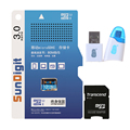 SunDigit 32GB 16GB Micro SD Micro SDHC Card class 10 UHS-1 TF Memory Card 32 GB + OTG card reader For Smartphone tablet PC