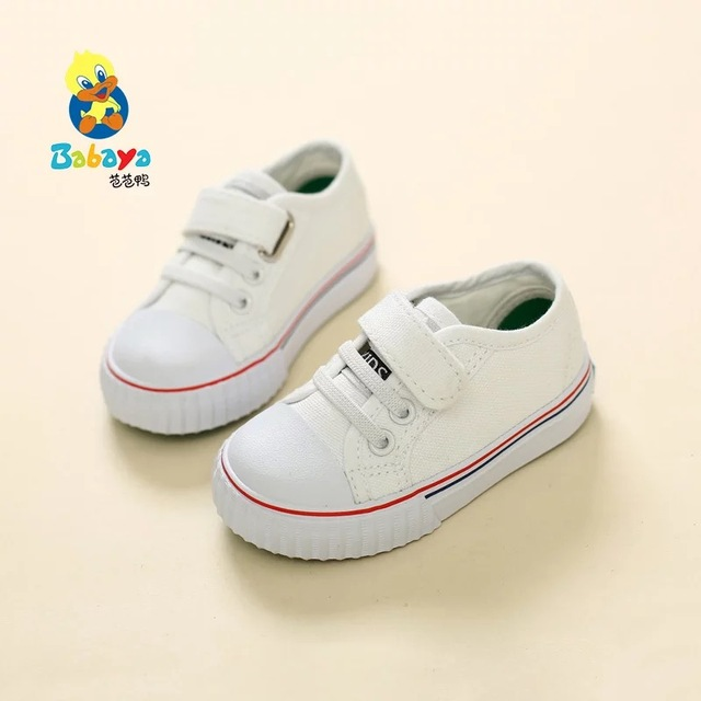 2016 brand Autumn Fashion slip-on toddle canvas tenis loafer Child infantile sneaker boys baby classic shoes girls first walkers