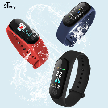 Smart Bracelet Blood Pressure Monitoring Smart Band Color TFT Screen Fitness Tracker For iOS Android PK Mi band 3 #C0 Браслет