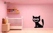 YOYOYU Vinyl Wall Decal Super Cute Cheshire Cat Bedroom Home Removable Lovly Art Decoration Stickers for kids room FD093 yoyoyu vinyl wall decal dream catcher feather exquisite interior living room art home decoration stickers fd315
