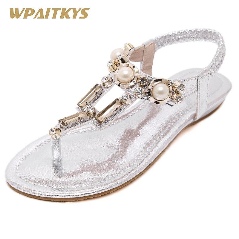 کفش های نقره ای مشکی طلای 2018 سه رنگ کفش - کفش زنانه