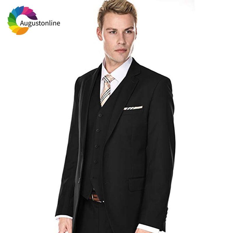 Men Suits Wedding Suits Costumes Mariage Homme Men's Wedding Suits Terno Masculino Costume Homme Mariage Men Suit with Pants Best Man Blazer Masculino Men's Suits Slim Fit Custom Made Gromsmen Suit (4)