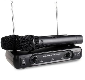 Ręczny bezprzewodowy mikrofon do Karaoke odtwarzacz Karaoke domu Karaoke mikser systemu dźwięk cyfrowy mikser Audio śpiew maszyna do V2 tanie i dobre opinie REDAMIGO CN (pochodzenie)