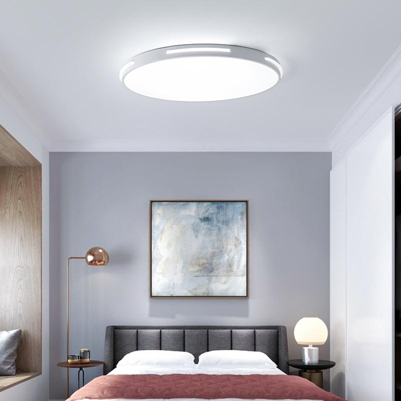 Cooperative Led Lustres Modern Led Ceiling Light For Living Room Bedroom Kitchen Luminaries White Acrylic Led Ceiling Lamp Lighting Fixtures Ceiling Lights