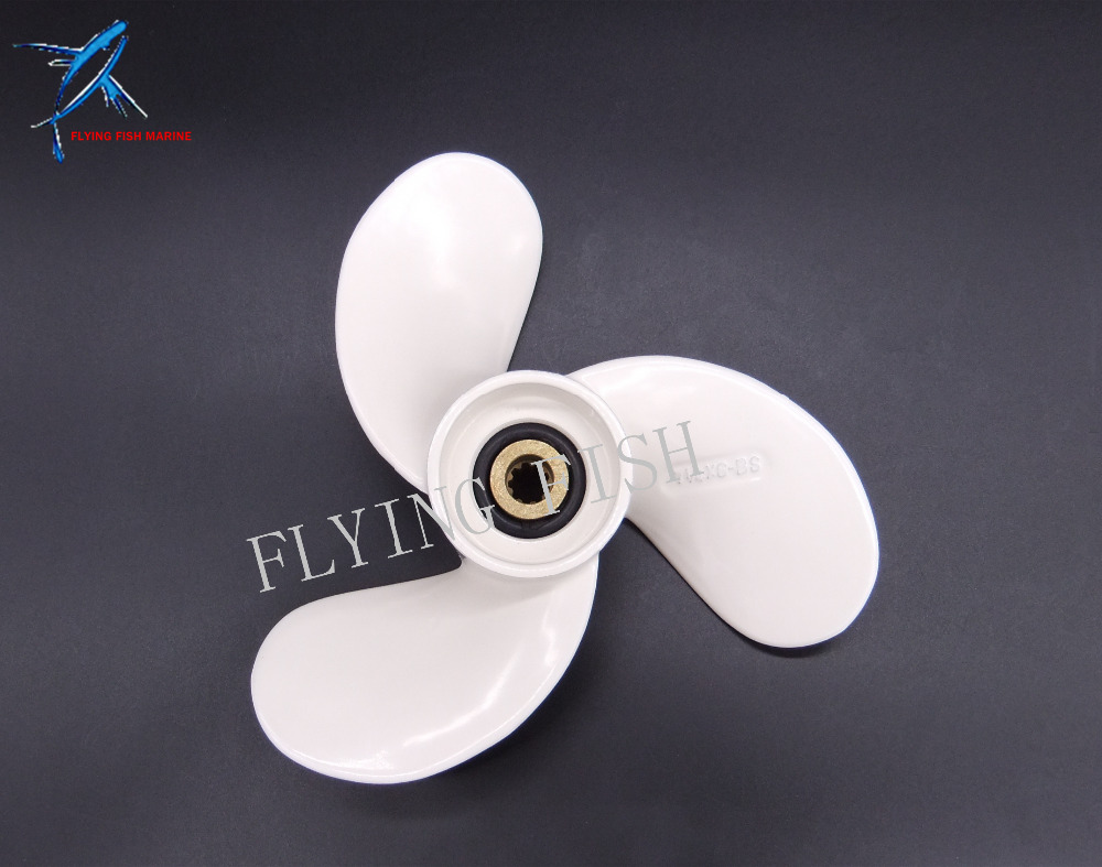 Boat Engine Propeller 7 1/4x6-BS for Yamaha 2.5HP 3HP 4HP 5HP F2.5A 3A Malta Outboard Motor 7 1/4 x 6 -BS, Free Shipping