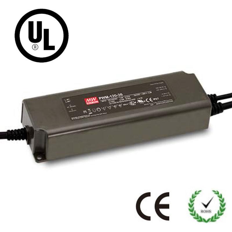 90% Efficiency CE IP67 UL LED Power Supply 0-10V PWM Dimming Transformer 40W 60W 90W 120W DC 12V 24V 36V 48V Driver Adapte dc 36v 120w led driver ip67 waterproof transformer outdoor light power supply