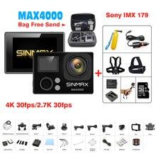 Comfast SINMAX Action Camera Ultra HD 4K WiFi 30fps Camera 1080P/60fps Camcorder 2.0″ 170D 30m Waterproof mini camera sports DV