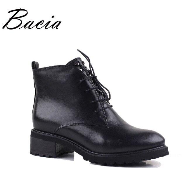 Bacia/Низкий квадратный каблук Revit кожаные сапоги Зимняя обувь ручной работы с натуральной шерстью Женская обувь на меху высотой до щиколотки мягкие удобные ботинки ve002
