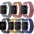 Fohuas serie 2/1 milanese bucle correa de reloj para apple watch banda de 42mm 38mm brazalete de eslabones de Acero Inoxidable Tejida Para iwatch banda