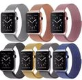 Série 2/1 milanese fohuas loop assista strap para apple watch banda 42mm 38mm ligação pulseira de Aço Inoxidável Tecido Para iwatch banda