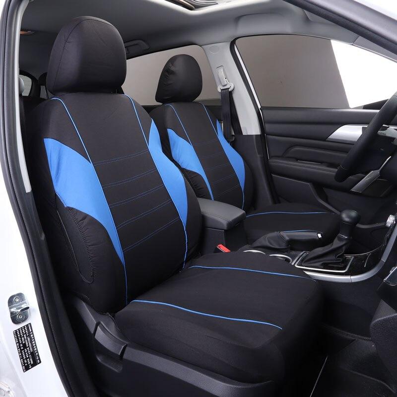 Housse de siège de voiture housses de sièges de voiture protecteur pour ford c-max ecosport edge escort everest explorer 5 s-max de 2006 2005 2004 2003