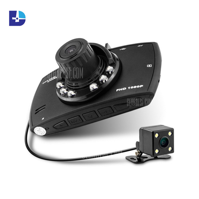 buyer hd 720p dual lens dashboard car vehicle camera recording