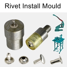 Cap Rivet mould tool for manual hand press machine single face mold and double face mould is available