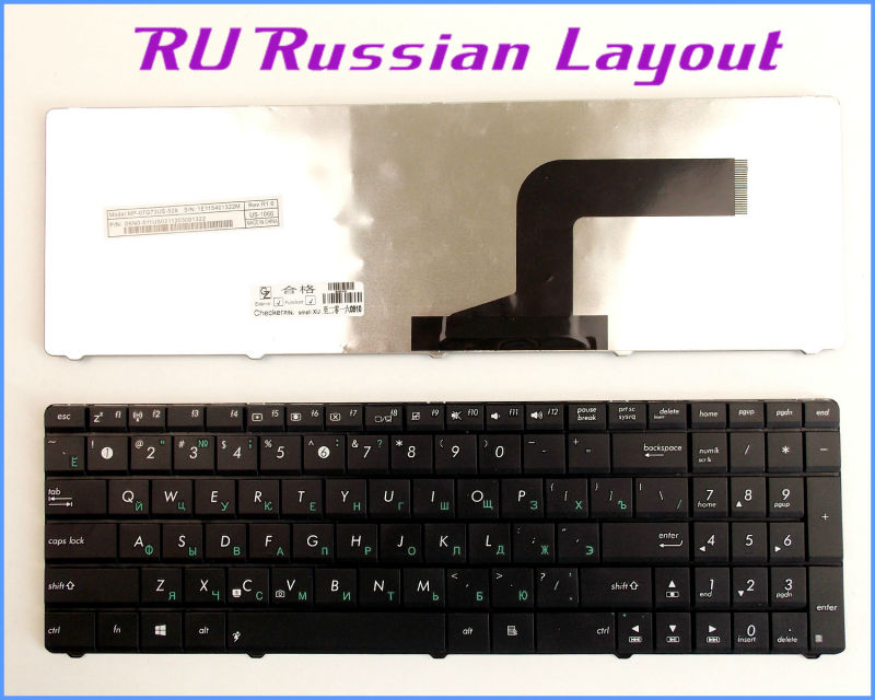 New white US keyboard fit ASUS G51 G51J G51J3D G51Jx G73 G73J G73JL G73Jw G73S