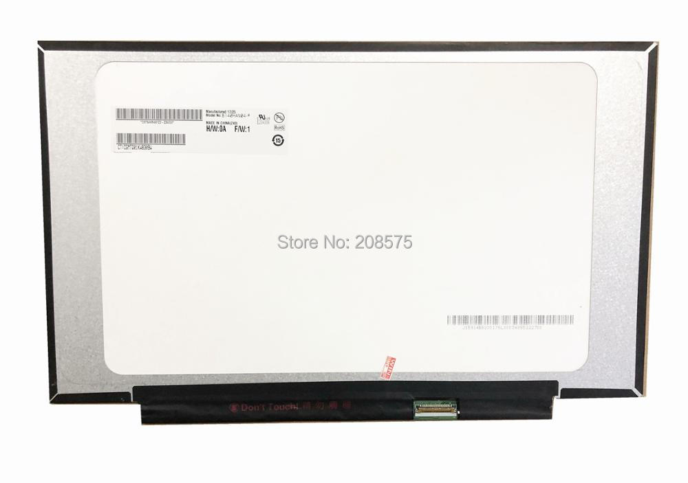 Free shipping B140HAN04.0 fit B140HAN04.1 N140HCA EAC NV140FHM N62 N61 Laptop Lcd Screen 1920*1080 EDP 30 pin IPS free shipping b140han03 4 laptop lcd screen 1920 1080 edp 30 pin ips