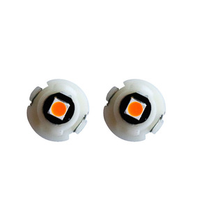Image 4 - 100Pcs T3 T4.2 T4.7 1 SMD 3030 LED Car Auto Dashboard Warning Indicator light Instrument Cluster Bulb Side Light Indicator light