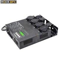 Multi Switch Pack компактный 4 канала DMX диммерный блок с 16 встроенных световых программ 4CH Switcher для светодио дный сцены светодиодные светильники