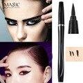 IMAGIC Maquillaje Profesional A Prueba de agua de Larga Duración Delineador Líquido Negro Delineador de ojos de Alta Pigmento de Larga Duración