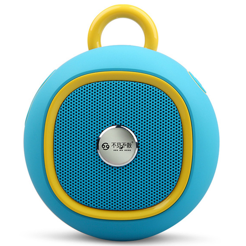 SEE ME HERE BV270 Portable Speakers Wireless Bluetooth 4.0 Speaker with USB Sound Card Hands Free