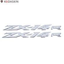 KODASKIN Emblems Stickers Decals 3D Reflective for KAWASAKI ZX-14R ZX14R ZZR1400