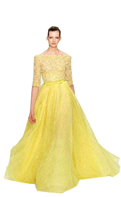 women summer maxi long yellow evening dress 2014 fashion star style new  arrival high quality floral dec4f476c82e