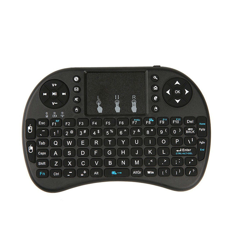 raspberry pi 3 mini 2 4g wireless mini keyboard with touchpad mouse handheld keyboards for. Black Bedroom Furniture Sets. Home Design Ideas
