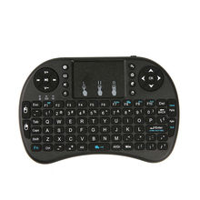 i8 Mini 2.4G Wireless Mini Keyboard Raspberry with Touchpad Mouse Handheld Keyboards For Orange Pi PC Android TV Raspberry Pi 3