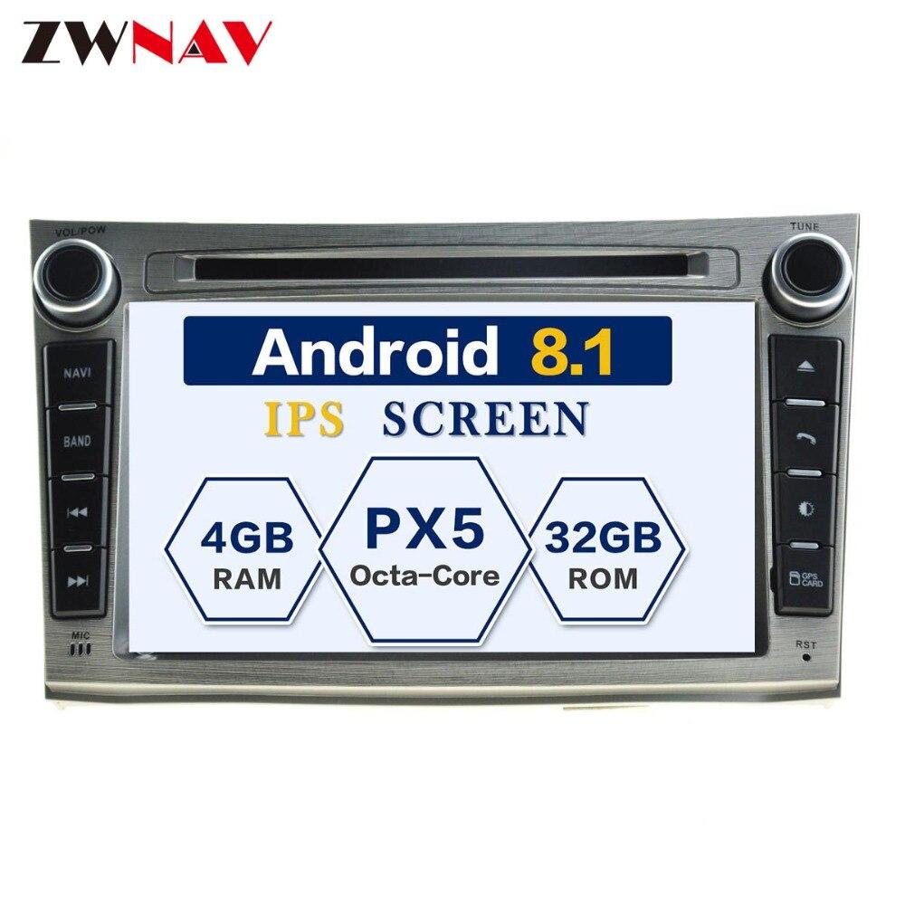 Android 8.0 8 Core RAM 4 gb ROM 32 gb Voiture GPS Auto Radio Écran Lecteur DVD Pour Subaru Legacy outback 2009-2014 Carte Gratuite Et Caméra