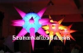 все цены на Hot sale inflatable lighting star for advertising decoration