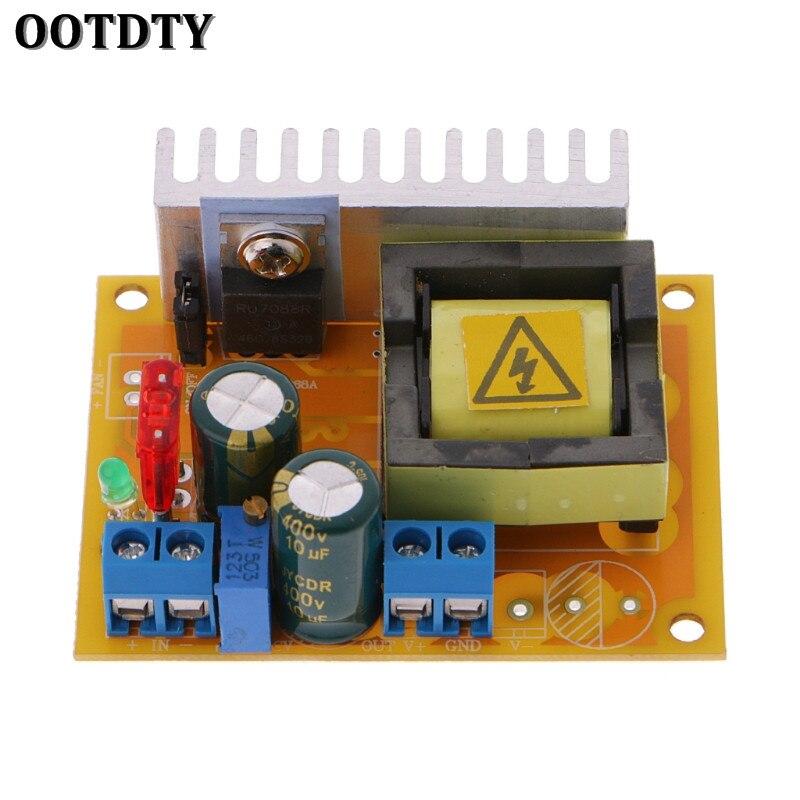 Модуль повышения напряжения OOTDTY, от 8 до 32 В до 45 ~ 390 в, повышающий преобразователь напряжения, ZVS