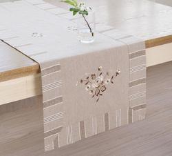 Corredor de mesa moderno bordado pastoral corredor de mesa para festa de casamento casa hotel decoração de mesa têxtil para casa