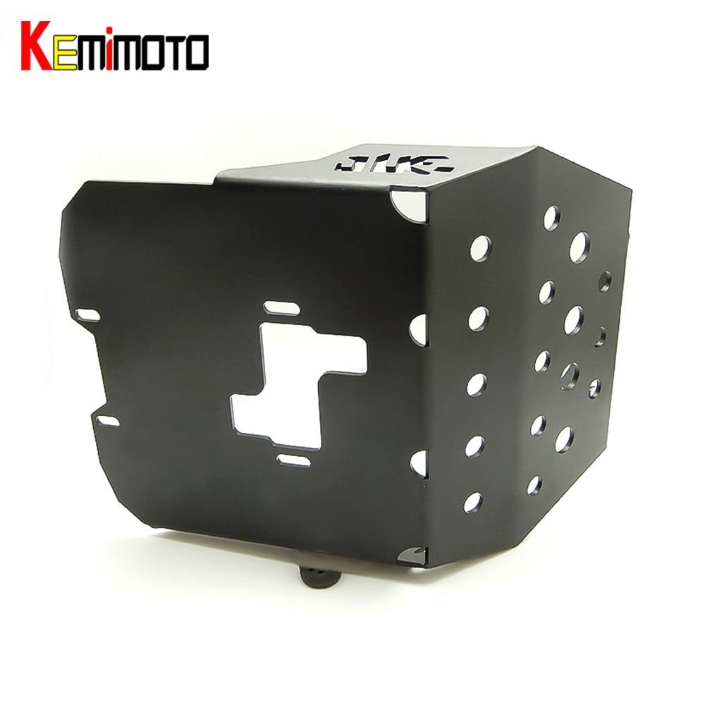 KEMiMOTO Skid Plate Engine Protector For KTM DUKE 250 2015 2016 DUKE 390 2013-2016 For KTM DUKE RC250 RC390 Motocross Dirt Bike motorcycle front rider seat leather cover for ktm 125 200 390 duke