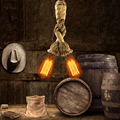 New ! 50CM Rope Pendant Lamp Personality Edison Bulb Vintage Rope Pendant Light Industrial Lamp American Style For Living Room