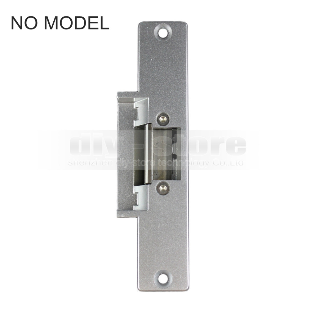 DIYSECUR NO Electric Strike Door Lock For Access Control System Use Fail Safe electric strike door lock model for access control system kit use fail safe free shipping