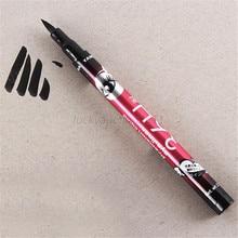 1 PCS Hot Ultimate Black Liquid Eyeliner Long-lasting Waterproof Eye Liner Pencil Pen Nice Makeup Cosmetic Tools music flower Z5