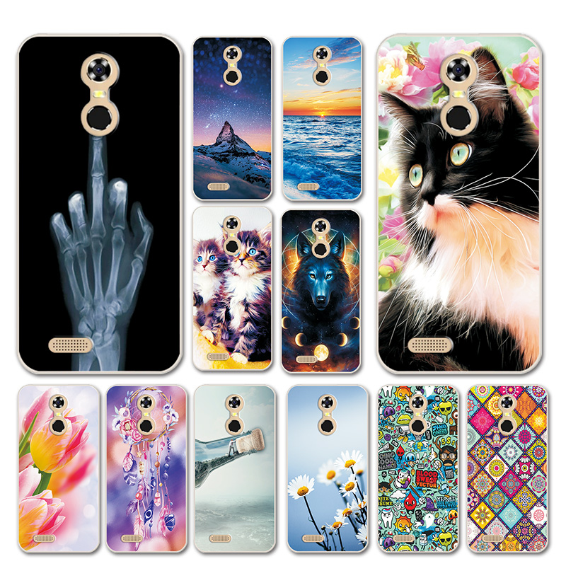 Beautiful Fundas For Oukitel C8 5.5'' Cases Cover Love Heart Silicon Phone Shell For Oukitel C 8 OukitelC8 Phone Bags