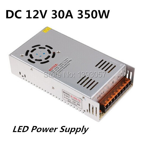 ФОТО 1PC AC 110V 220V to DC 12V 30A 350W Voltage   Transformer Switch Power Supply for Led Strip & Led   billboard