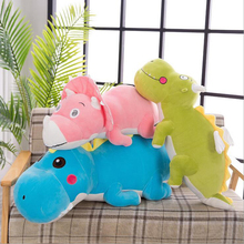 цена на Creative Cute Dinosaur Doll Plush Toys Stuffed Animal Doll Toy Soft Plush Pillow Children Toys Girls Birthday Gift