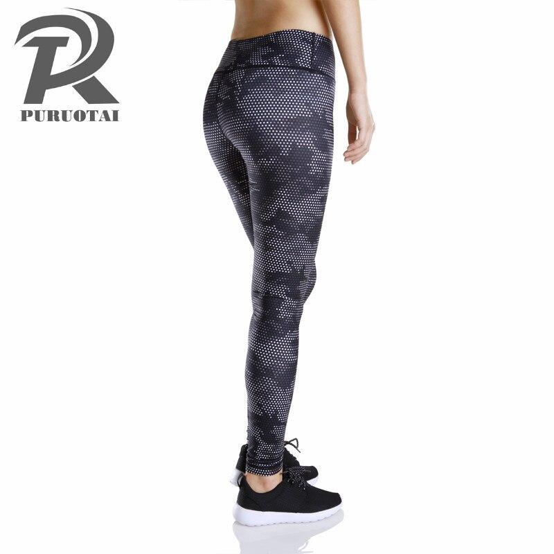 903b19e83 € 13.12 38% de DESCUENTO|Aliexpress.com: Comprar Pantalones de Yoga deporte  Legging de cintura alta Calzas Mujer femenino Sexy Ropa Deportiva Mujer ...