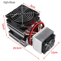 Original DIY Mini Fridge DC 12V Semiconductor Refrigeration Cooling Device Thermoelectric Cooler High Cooling Efficiency