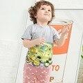 Comercio al por mayor de little maven 6 unids niños t-shirt niño verano camisetas camiseta de algodón ropa de bebé de manga corta ropa de los niños