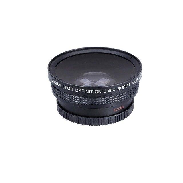 Lightdow 52 mét 0.45x wide angle lens + ống kính macro 72 uv Bộ Lọc Front Chủ Đề cho Cannon D5000 D5100 D3100 D7000 D3200 D80 D90