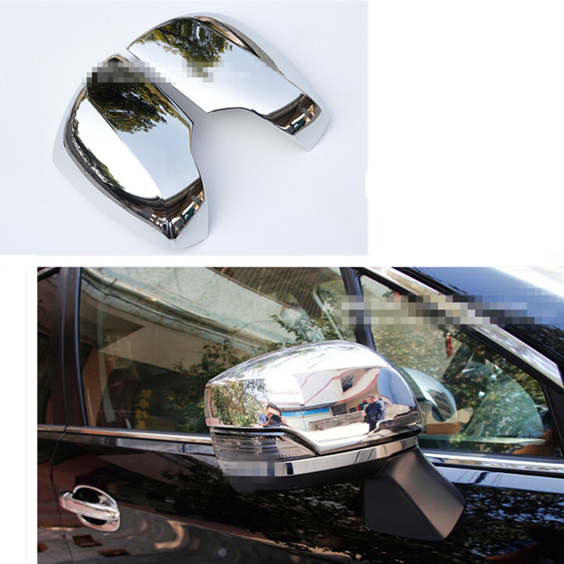 Car styling side mirror cover rearview mirror cover for subaru xv 2009 2010 2011 2012 2013 2014 2015 abs chrome 2pcs per set abs mirror cover chrome matt painted cap side mirror housings for volkswagen jetta golf 5 passat b6 ct