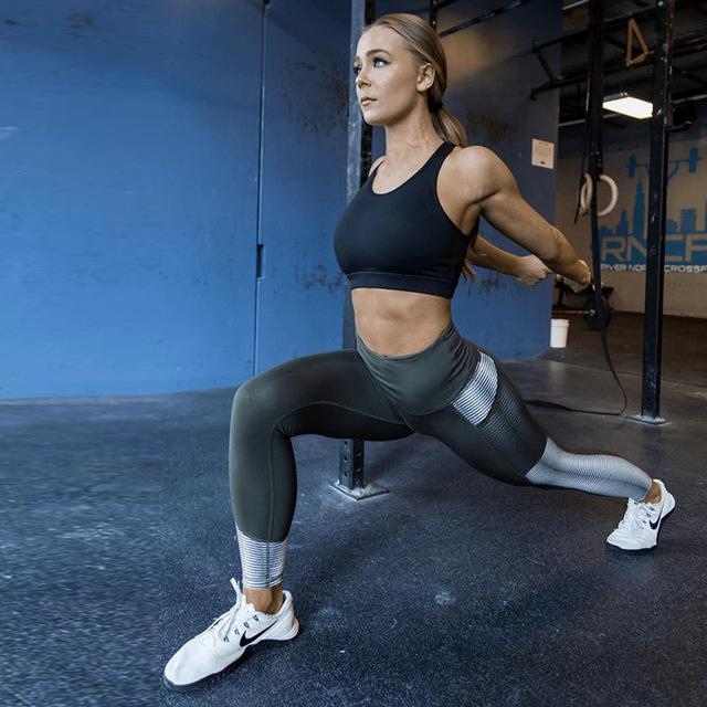 Leggings de cintura alta para mujer Fitness