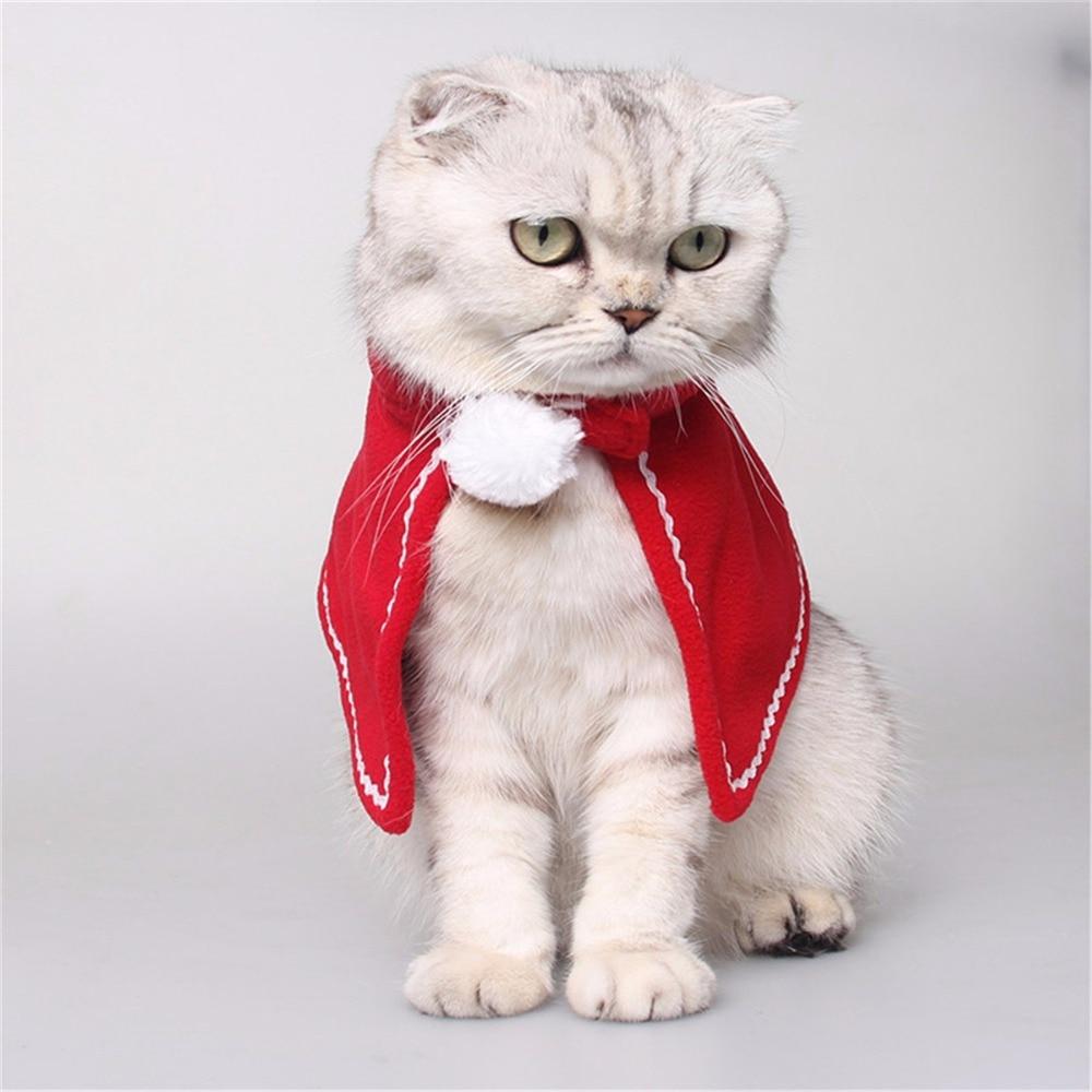Home & Garden Cat Clothing Romantic Puppy Cat Costumes Cloaks Mantle With Suit Set Clothes Small Pet Cat Coat