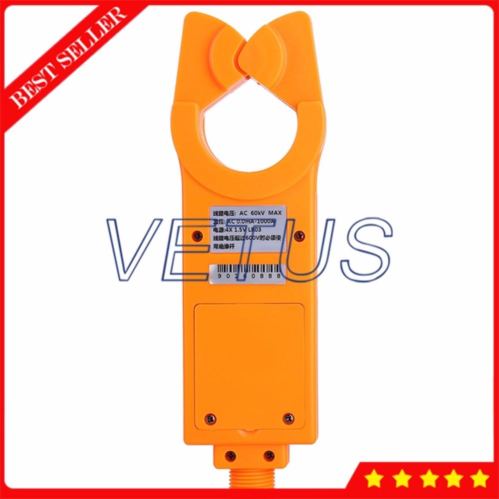 ETCR9000 High/Low Spannung AC Leckstrom Clamp Meter Messung mit 99 sets daten logger auf linie AC strom aufsicht - 4